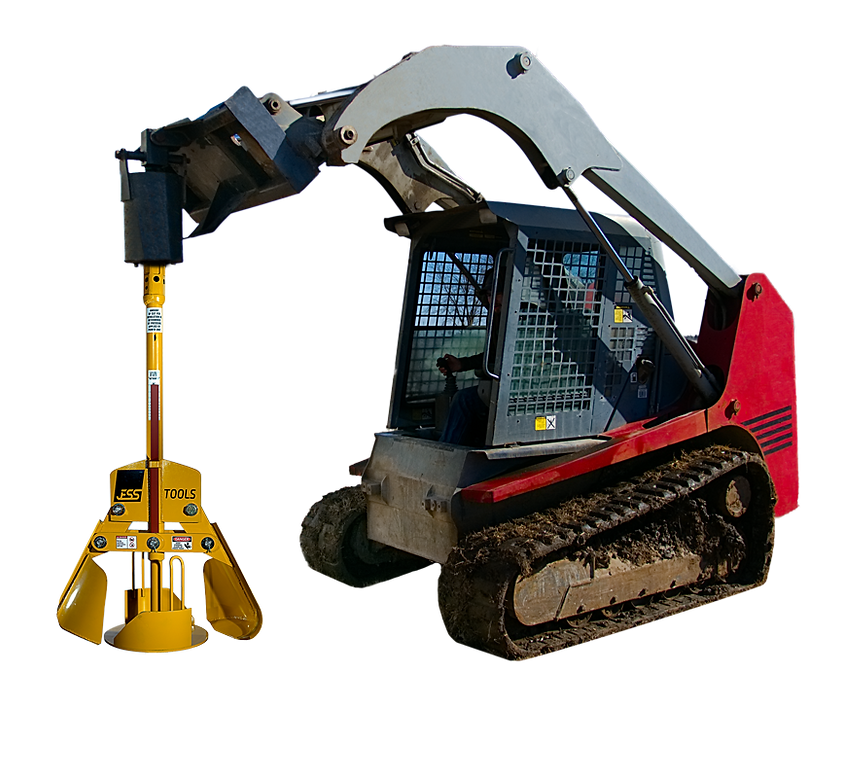 Belling Auger with Skid Steer