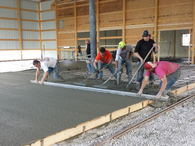 Laying Foundation | Post Frame Building | CPS | Hunnewell, Missouri