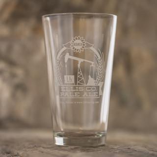 Ellis Co Pale Ale Pine Glass - $5