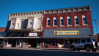Kids Caboose, Downtown Moberly