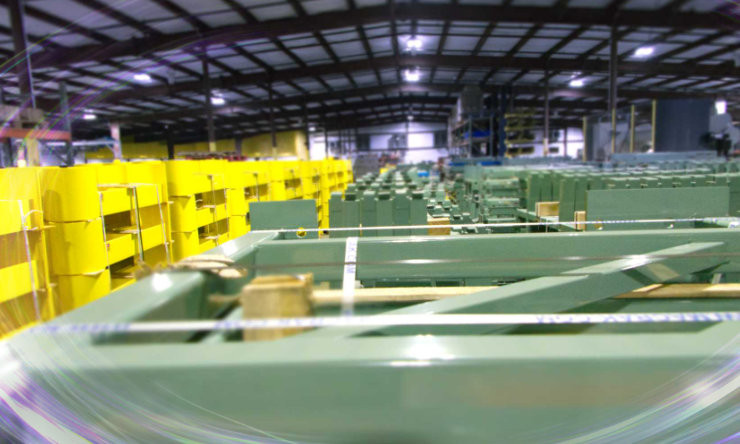 Pallet Rack Repair Manufacturing Facility