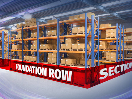 The Foundation Row, One Key to Pallet Rack Safety