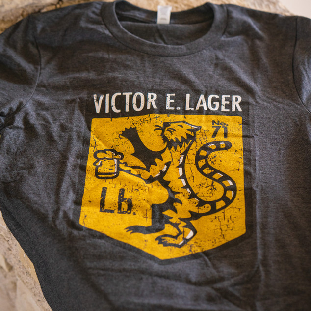 Victor E. Lager T-Shirt