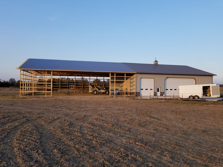 Why build a pole barn? Or, Why post frame construction is better