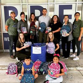 Blue Ridge Elementary backpack program
