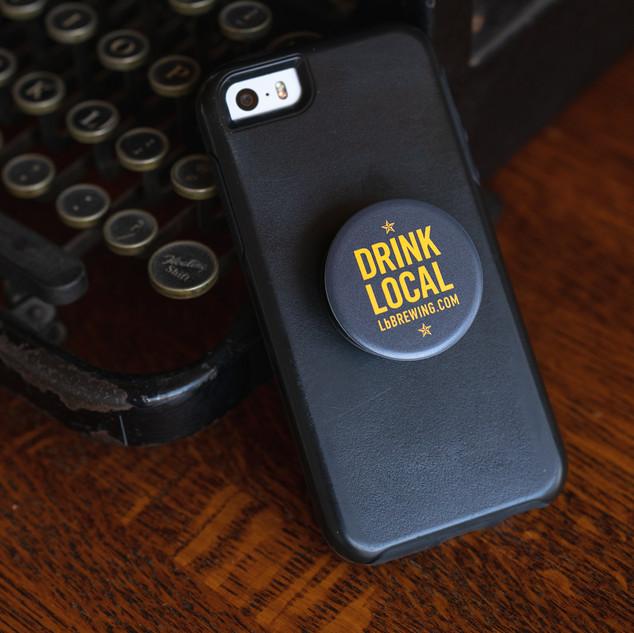 Drink Local Pop Socket