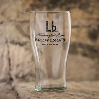 Lb. Brewing Co Pint Glass