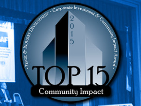 Moberly Receives CiCi Award for Community Impact