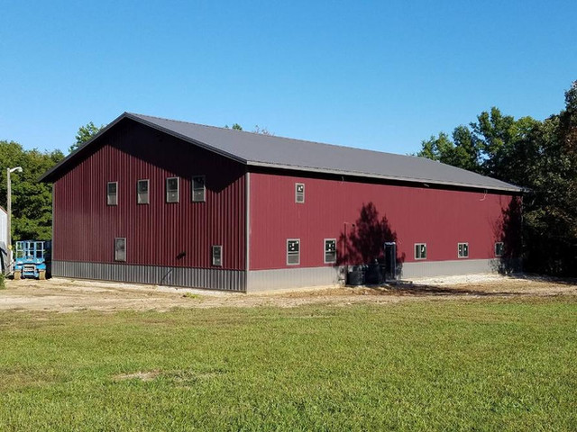 Finished Building | Post Frame Building | CPS | Hunnewell, Missouri