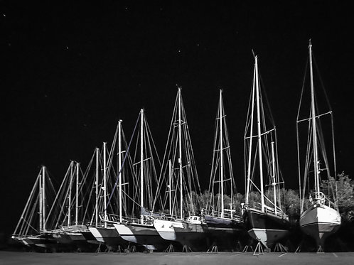 Masts of Sandwich Harbor