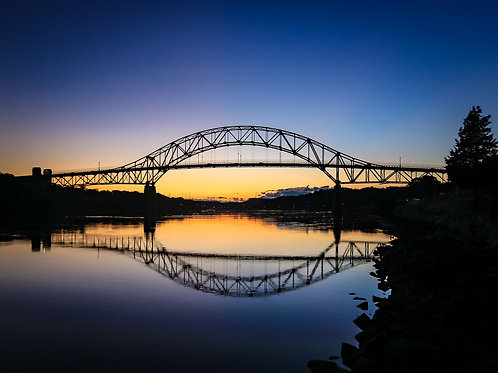 Sagamore Bridge Mirror Image