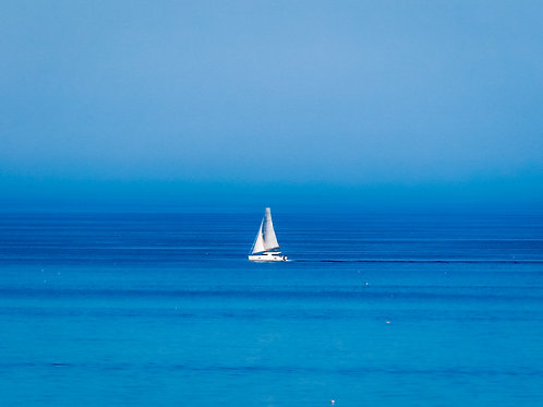 Sailing the ocean blue...