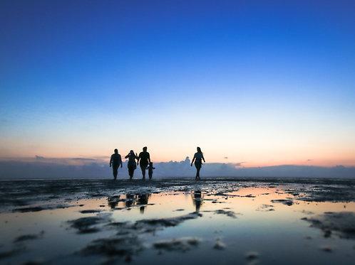 Low tide stroll