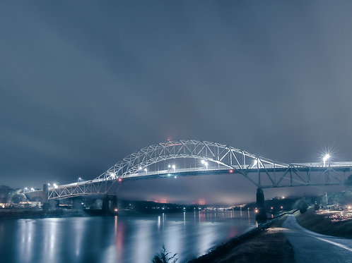 Sagamore Bridge feeling Blue