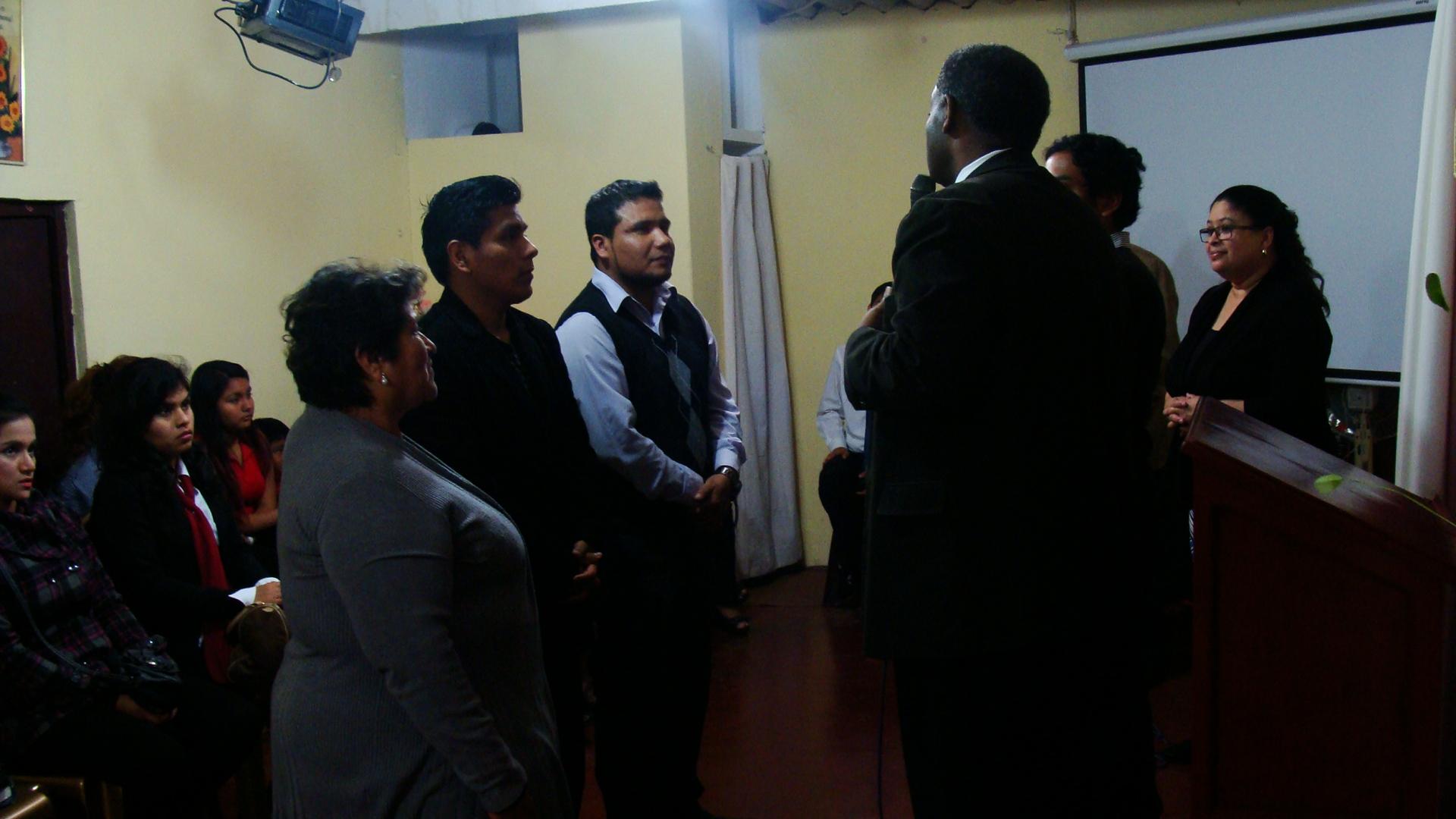 Local Pastors in attendance
