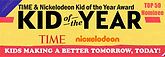 Nickelodeon TIME Magazine KID of the Year