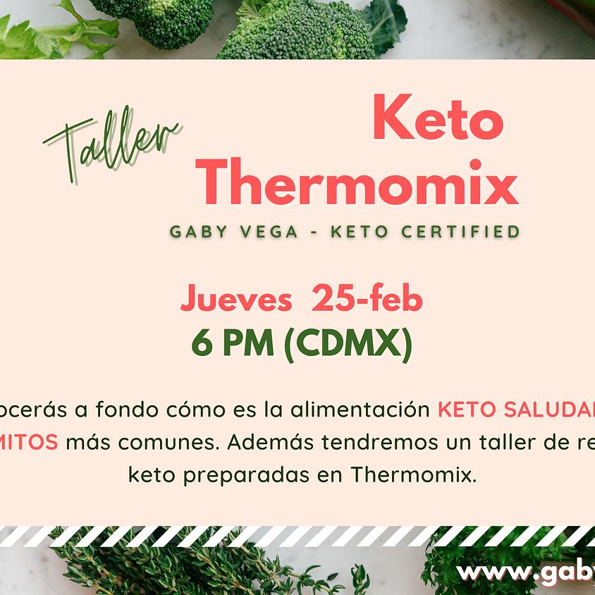 Taller Keto con Thermomix