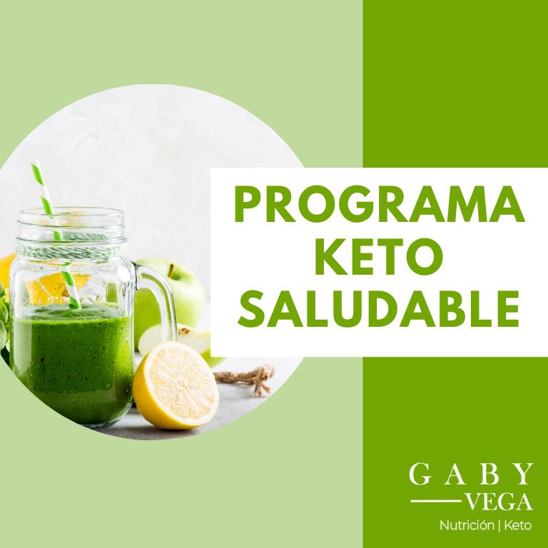 Programa  Keto Saludable Individual