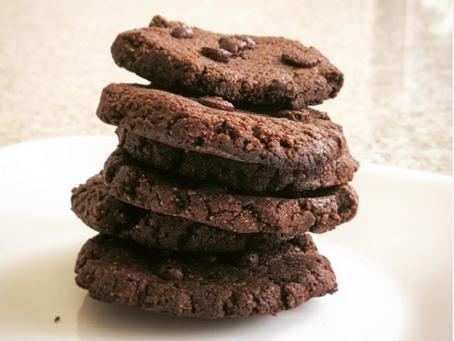 Receta | Galletas de Chocolate sin azúcar, sin harina, sin lácteos