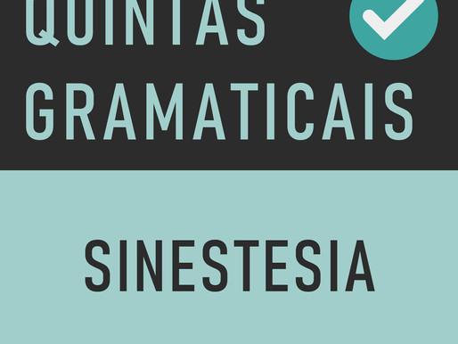 QUINTA GRAMATICAL: Sinestesia
