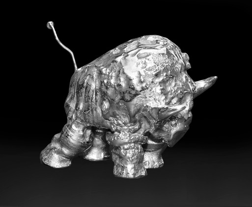 Small Stainless Steel Buffalo  View#3