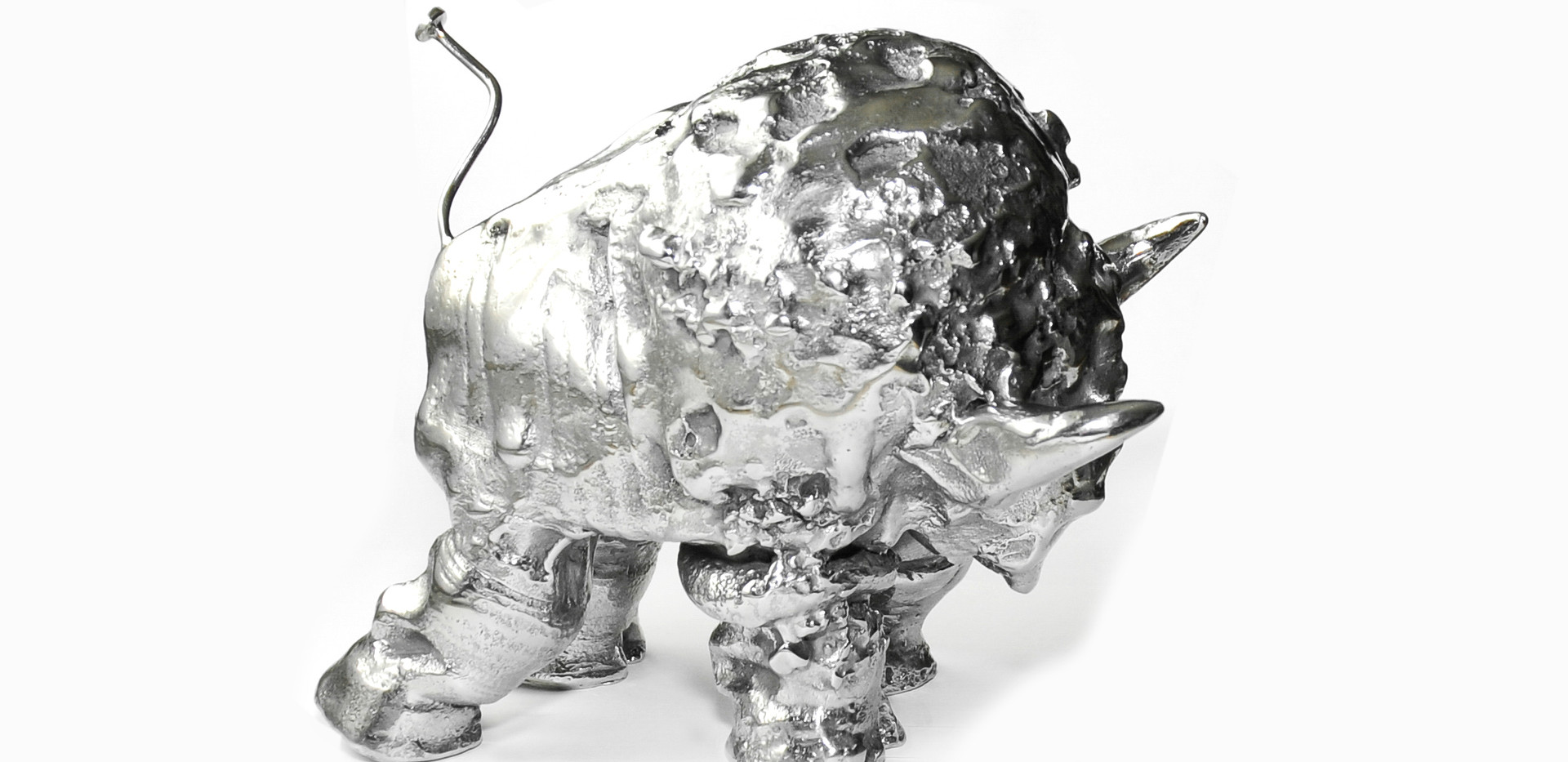 Small Stainless Steel Buffalo  View#4