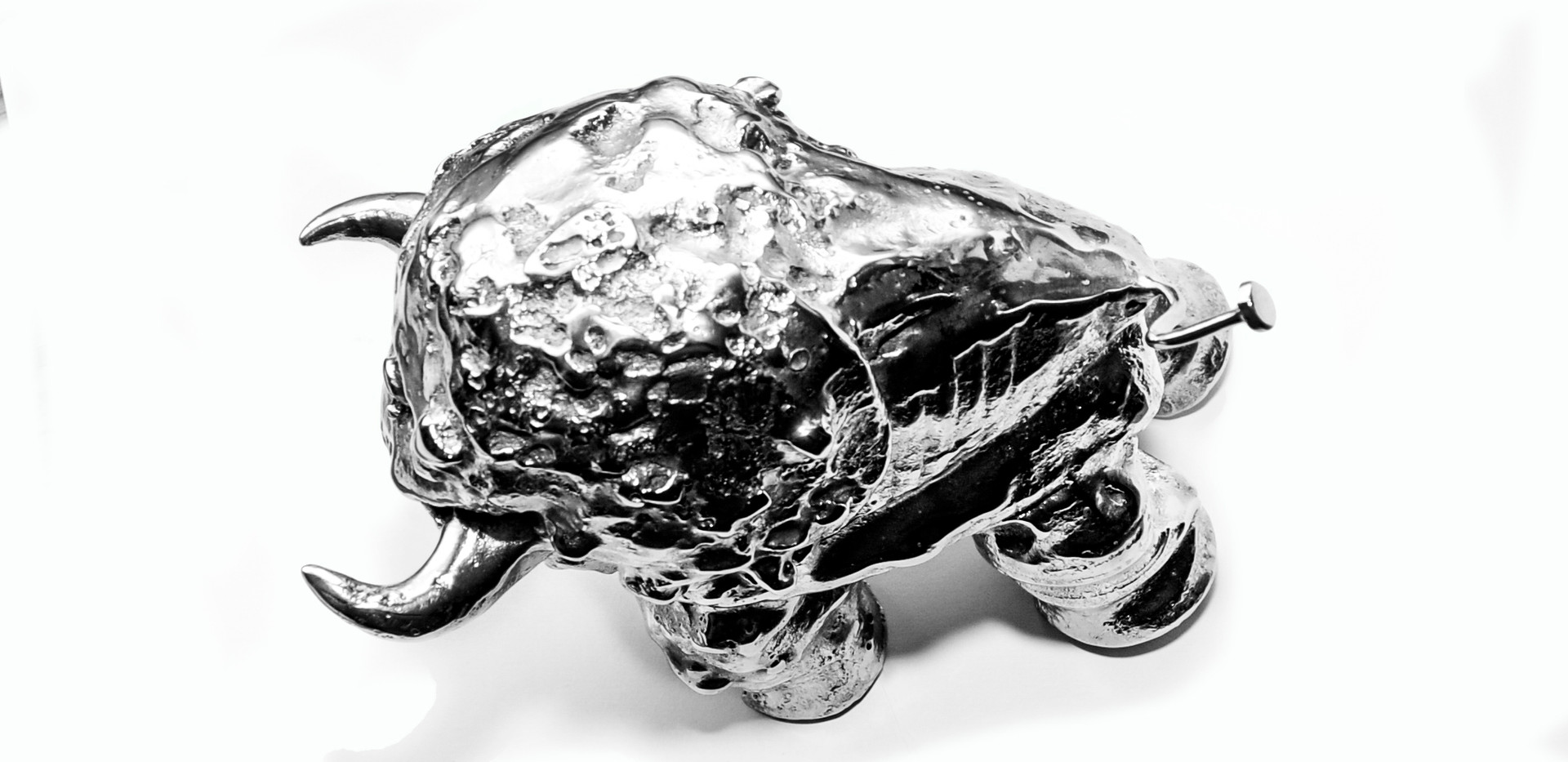 Small Stainless Steel Buffalo  View#8