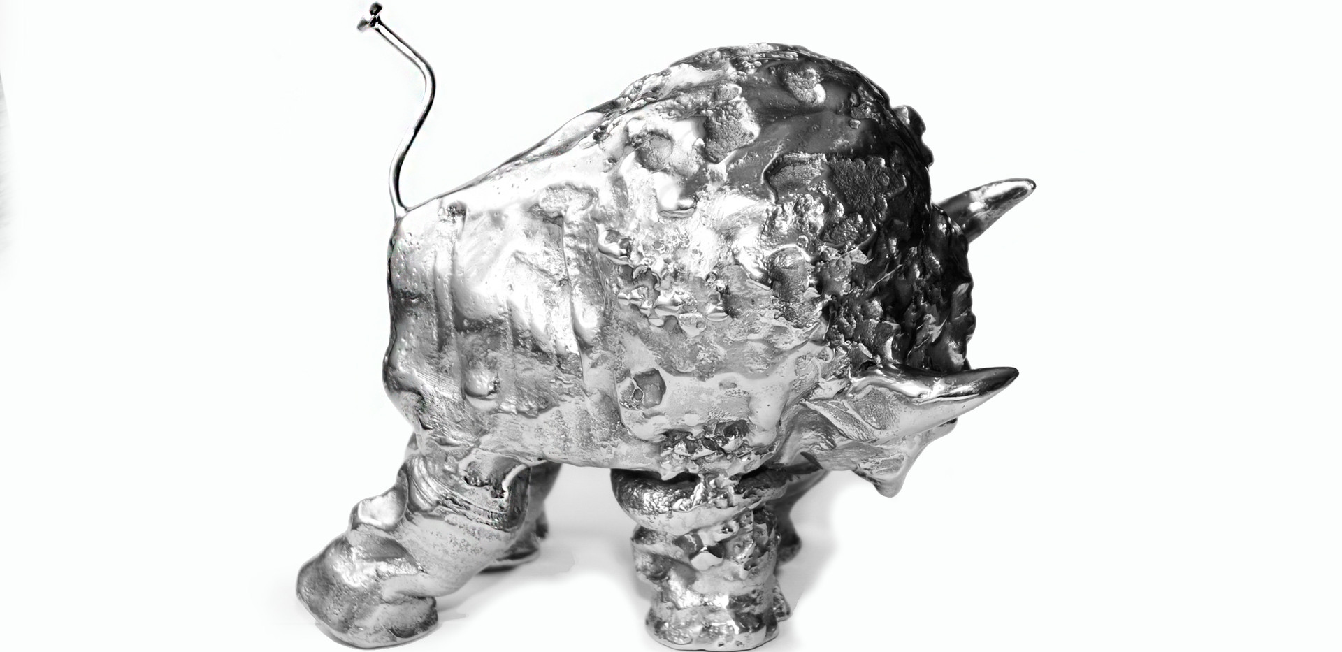 Small Stainless Steel Buffalo  View#2