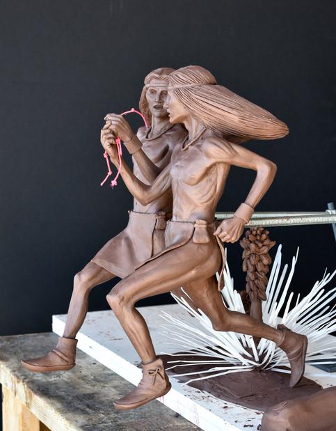 """Catua and Umtua"" maquette"