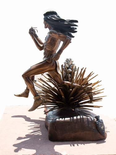 Completed sculpture - Catua and Umtua