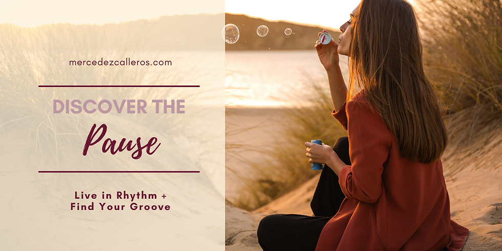 Discover the Pause - FREE TALK