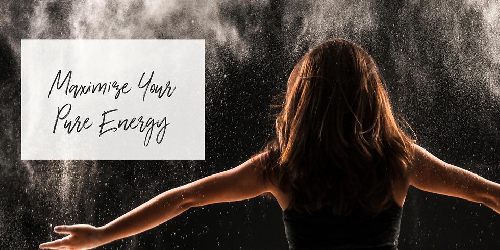 Maximize Your Pure Energy Workshop