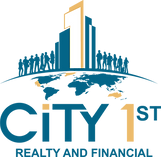 City 1st Realty and Financial Logo - Tra