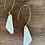 Thumbnail: textured porcelain earring