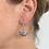 Thumbnail: black mini moon earring