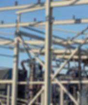 Construction, steel structures, metal construction