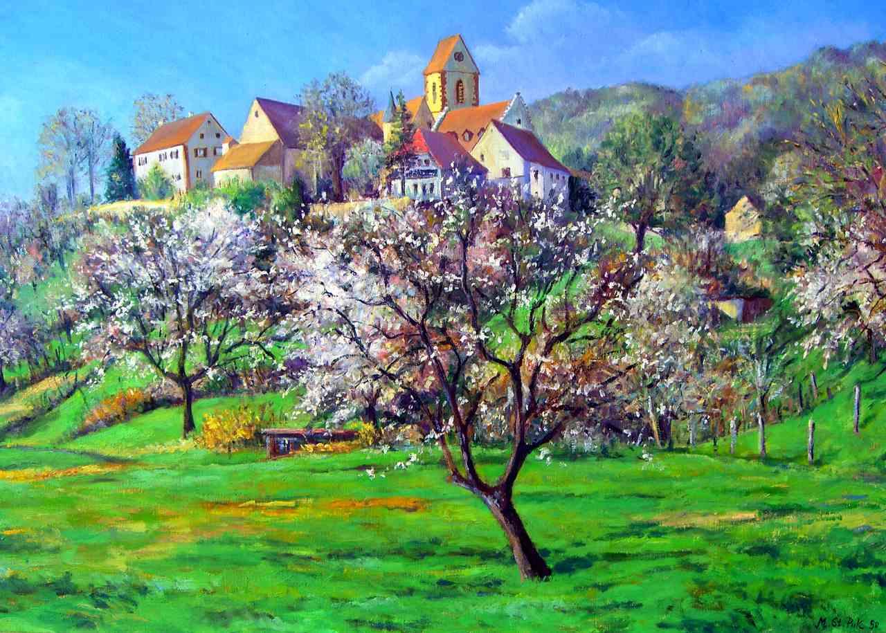 Roetteln-Weiler bei Lörrach-Frühling blü