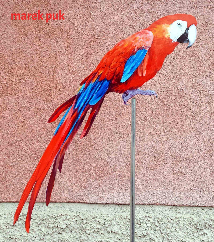 Wetterfahne-ara-rot-blau-003