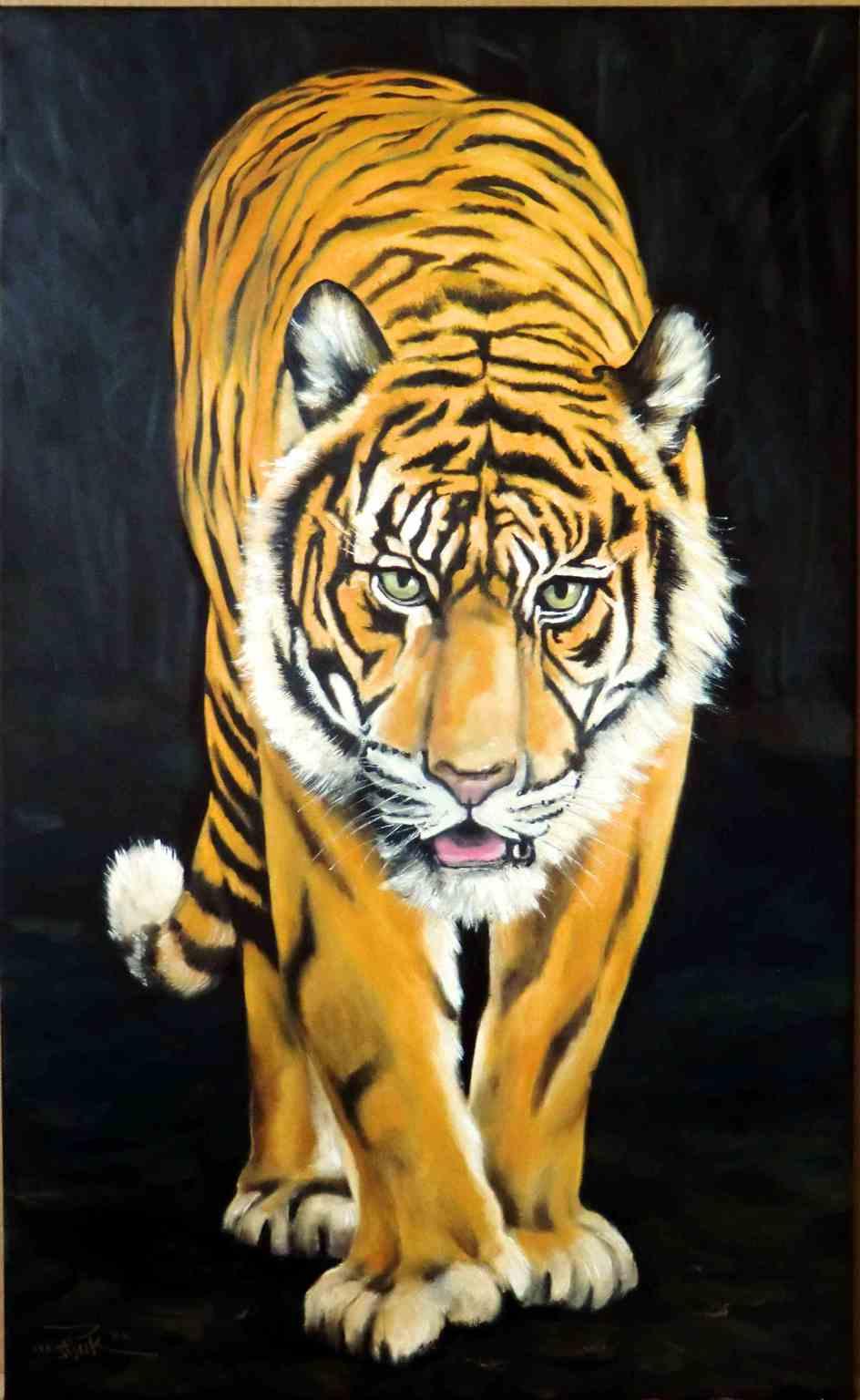 tiger-frontal-oel-leinwand-55x90cm-m