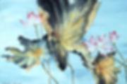 lotus-auf-japanpapier-braunton-aqua-puk.