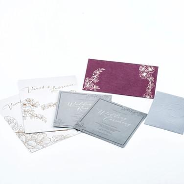 Custom wedding stationery Foremind Print