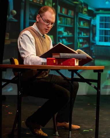 Giles Hitting the Books