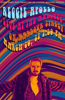 Reggie Apollo Concert Poster
