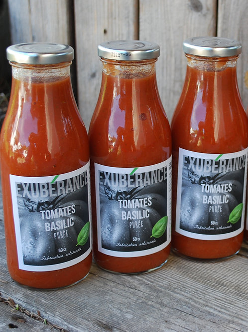 coulis de tomate basilic
