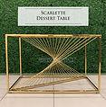 Scarlette Dessert Table