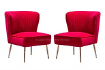 Red Mohan Side Chair