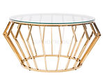 Serenity Gold Coffee Table