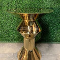 Arvilla Gold Cocktail Table