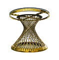 Gold Spoke Table