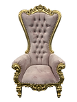 blush pink throne chai